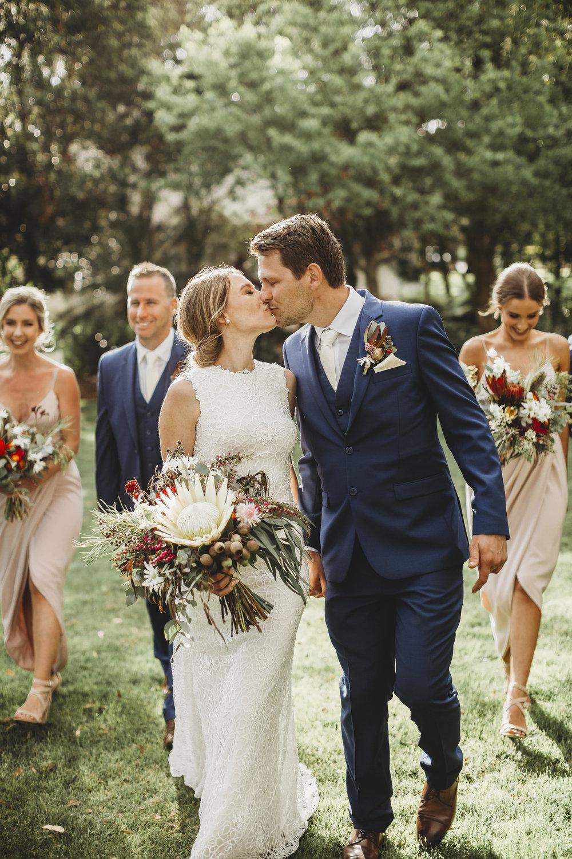 teille + nathan - A Beautiful Garden Wedding