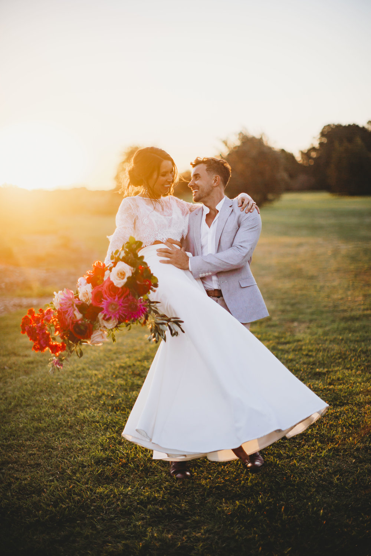 april + andy - Mediterranean inspired elopement