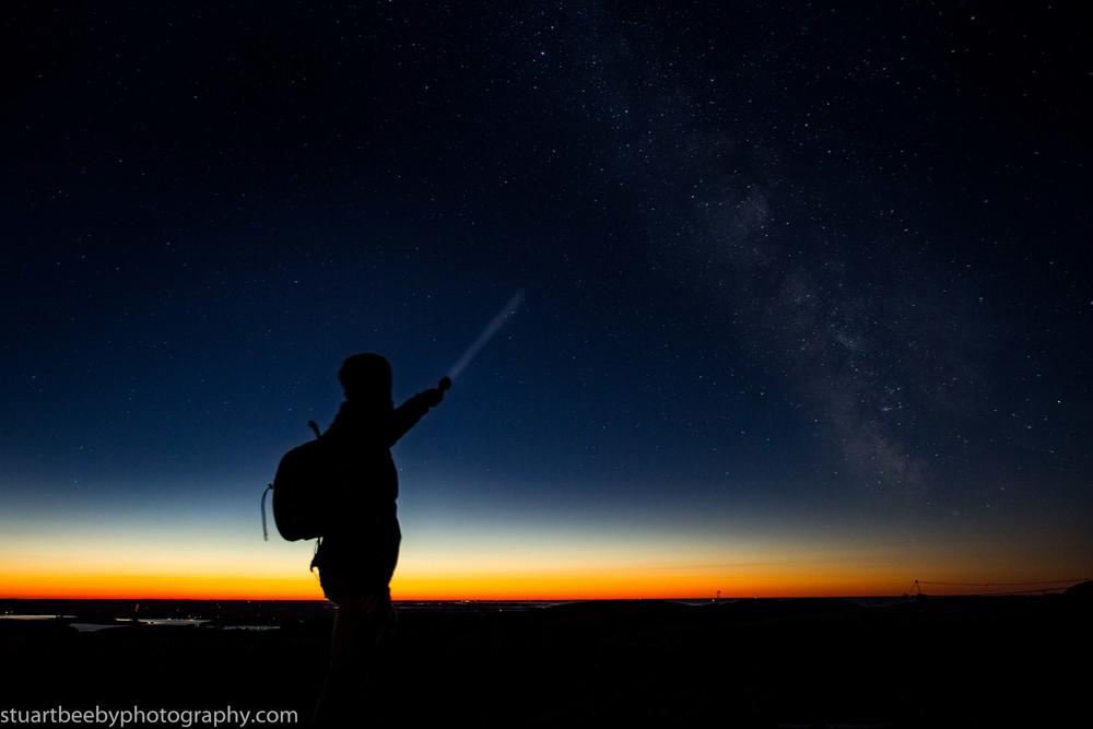 Dawn awakens as the night fades away