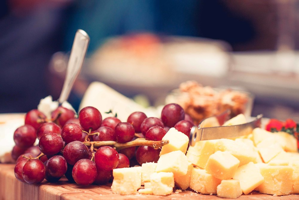 cheese and wine at Goodnow event in Sudbury