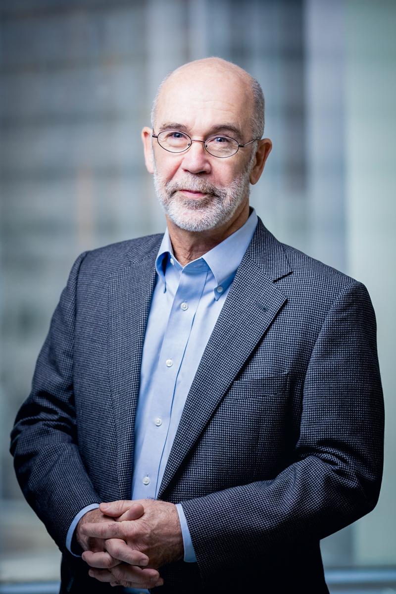 Professional Headshot of man in Boston Office