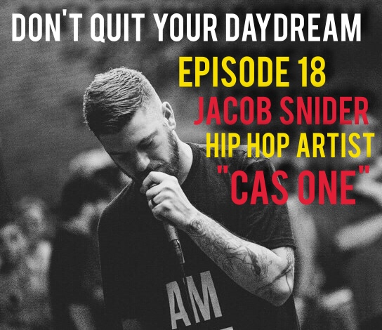 "Jacob Snider, better known to the music world as Cas One is a talented hip hop artist who utilizes his unique outlook and wit to craft songs that come alive when you hear them. Jacob stops by to discuss the catchy yet somewhat haunting tunes from his previous album ""The Monster and the Wishing Well"" and how he has continued to evolve in order to craft his debut record with Strange Famous. We discuss using normally crippling aliments such as depression and anxiety to fuel one's desire to create and continue pushing forward. You can't help but root for Jake as he shares with us the strong love he has for his friends, family and hometown. Check out everything Cas One by stopping by  http://www.casonemusic.net/  and stay tuned until the end to hear his first single ""Murder Media""."