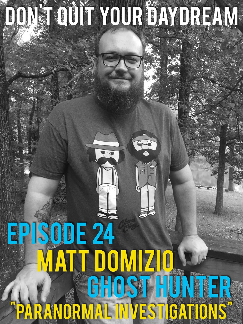 Matt Domizio ain't afraid of no ghosts! Matt sits down and talks about going on the hunt for the supernatural with Indianapolis based paranormal investigation group MRIPA. We discuss ghosts, demons, aliens and everything else that goes bump in the night.   http://www.mripa.net