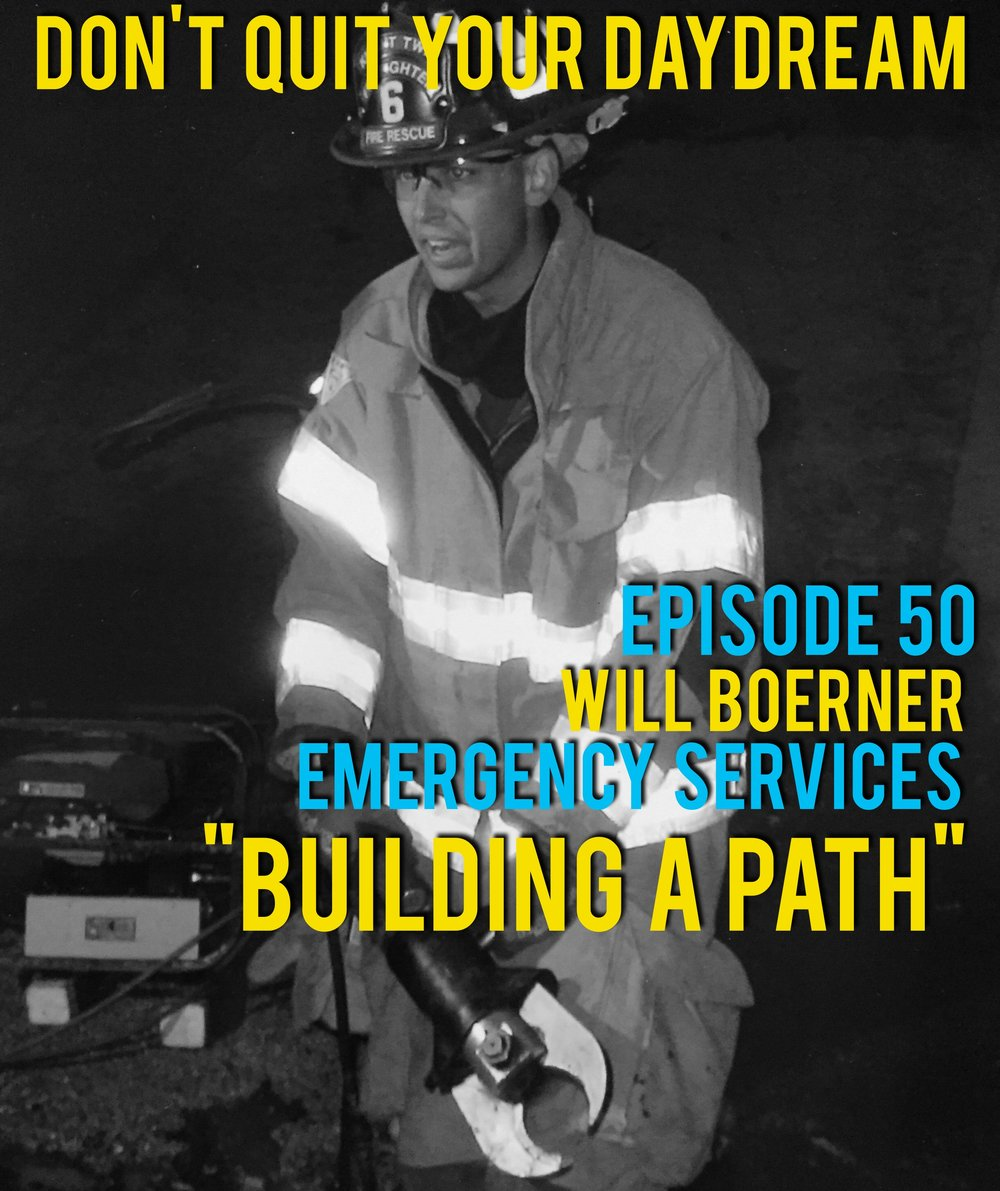"Episode 50 is near and dear to our hearts as we speak with firefighter and police officer, Will Boerner. Will has spent the last two decades serving various communities and has gathered quite a collection of feel good stories and memorable experiences. We delve into the negative perception the police have under come and why it's important to think about them as individuals.  Song of the week is ""At the Bar"" from talented alternative artist Carrick McDonald. Using catchy chords to deliver a unique tone this track fit the episode nicely. Find more at:  https://carrickmcdonald.bandcamp.com/"