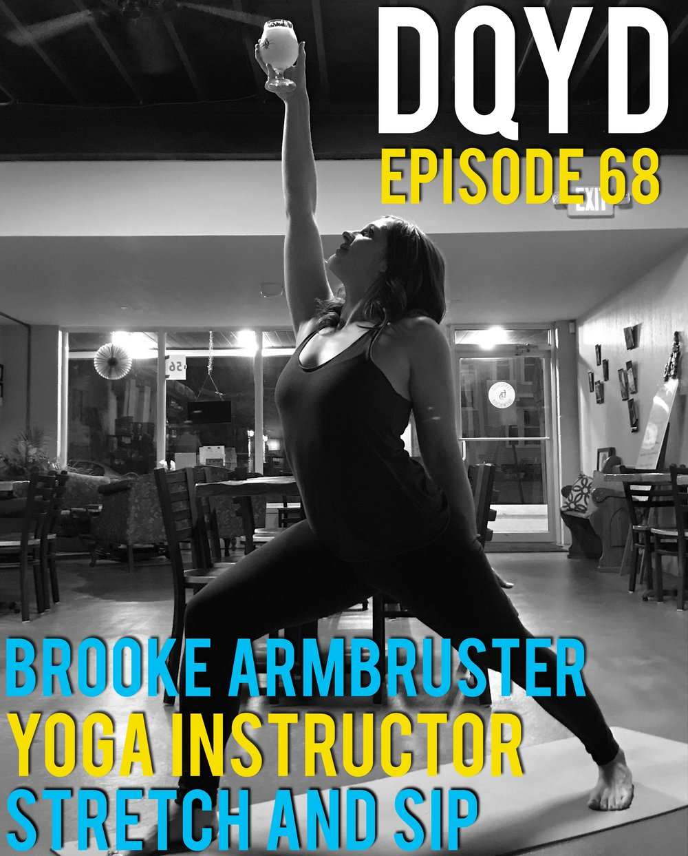 "Episode 68 is with Yoga Instructor: Brooke Armbruster! Combining her love of yoga and craft beers into one event, Brooke has created ""Stretch & Sip"" a yoga session that involves a tasty alcoholic beverage. Brooke shares with us the positive impact yoga has had on her life on both a mental and physical level and how she is now able to pass along that positivness to others. Follow along with her upcoming events by going to:  https://www.facebook.com/events/765160450324843/?ti=icl ,  http://instagram.com/om_powered   Song of the week is ""Let's Ride"" by Murphy's Horizon! https://soundcloud.com/murphyseventhorizon"