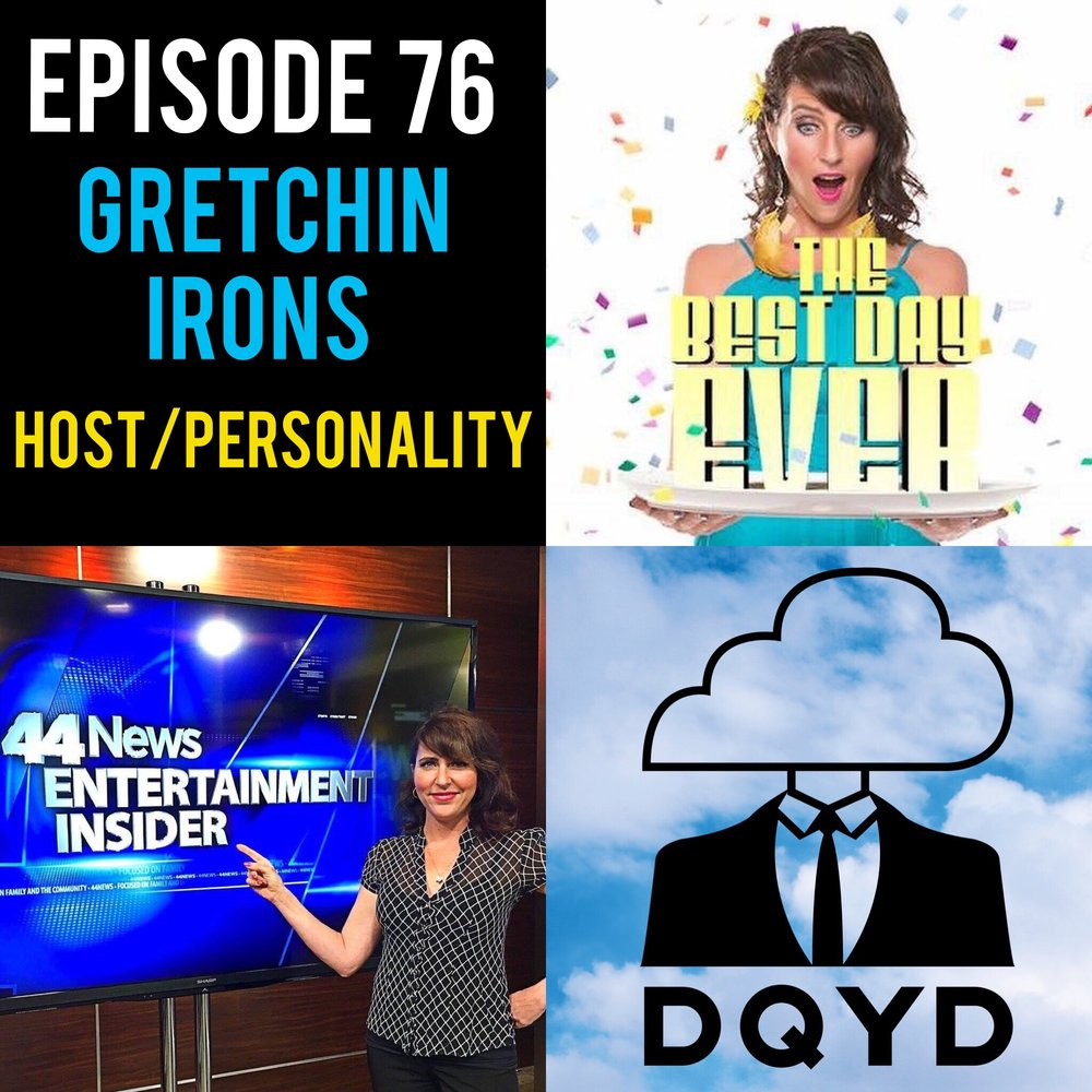 "Episode 76 with Host and TV Personality: Gretchin Irons! Host of ""The Best Day Ever"", Gretchin is a whirlwind of energy, laughter and information on fun events happening around the city. Immensely talented behind and in front of the camera she details the hard work and sacrifices it takes to make a dream a reality. Follow her along by visiting: https://www.facebook.com/TheBestDayEverEvv/ Song of the week is ""Make a Little Time"" from the rad dudes The Jangle Sheep. Check em out! https://www.bandmix.com/sean1092506/"