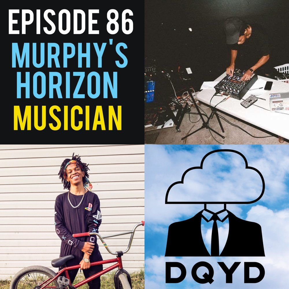 Episode 86 with Electronic Musician: Murphy's Horizon! Coming from a world of music from a young age, Murphy was destined to create wonderful tunes. We discuss different sources of inspiration, how to keep an audience interested and just how to get started in the world of electronic music. Stay tuned until the very end so you can hear his song DREAMLAND. Also download it for yourself! https://murphyshorizon.bandcamp.com/