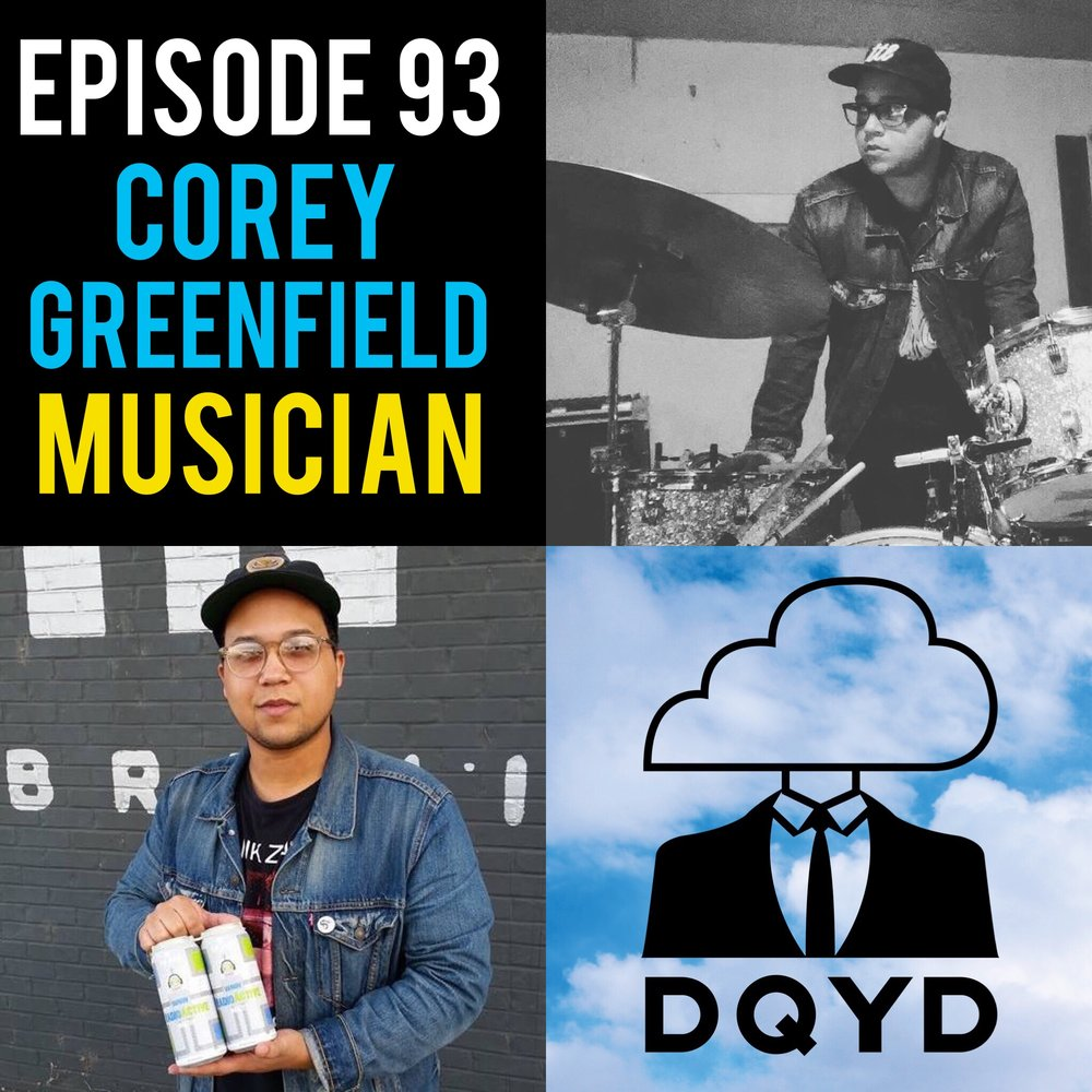 Episode 93 with Musician: Corey Greenfield! Playing the drums for most of his life, music has provided Corey with tons of wonderful friends and adventures. A true master of percussion, his band Thunder/Dreamer has recently been met with growing success after releasing several albums and eps in just a few short years. A great conversation for any aspiring musician! Check out TD! https://thunderdreamer.bandcamp.com/