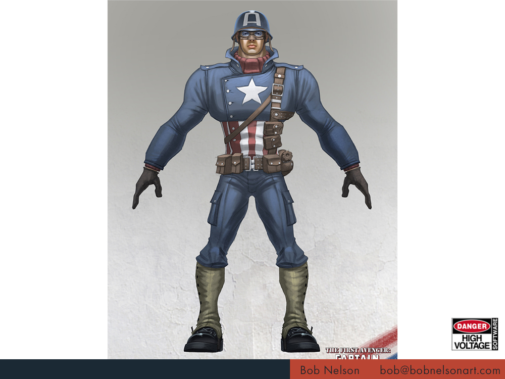 Captain America: Super Soldier (Wii)