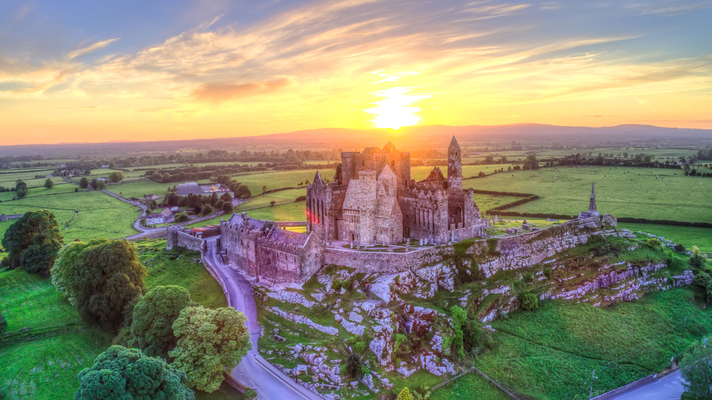 Rock of Cashel in Ireland - one of the beautiful sites that this pilgrimage will visit!