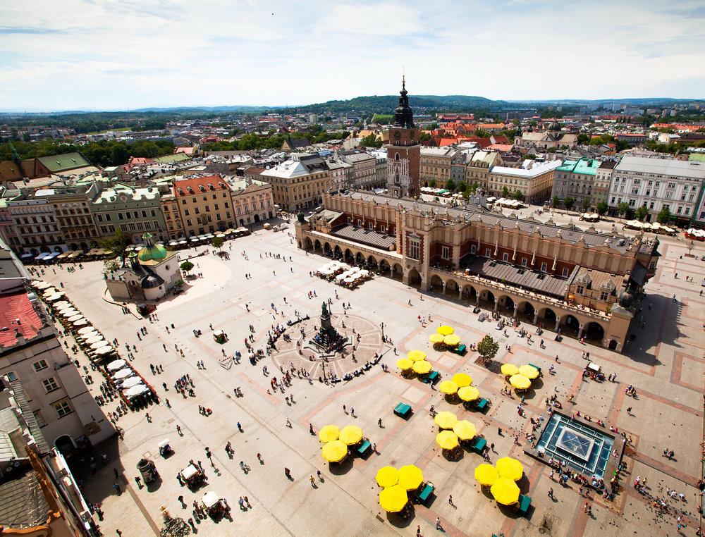 Krakow, Sukiennice, Poland. (World Heritage Site by UNESCO).jpg