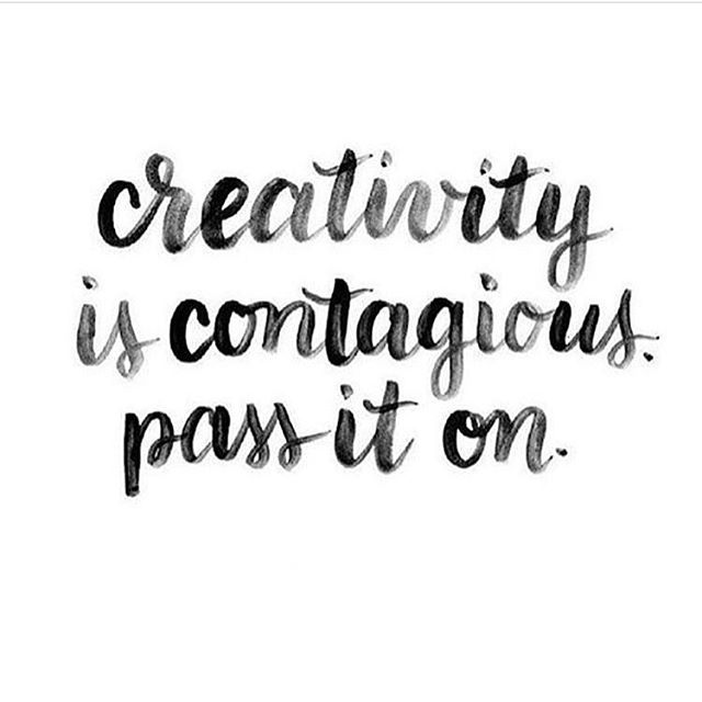 We couldn't agree more ❤️ #creativity #inspiration #passiton #nycartists #nyc #emergingartist