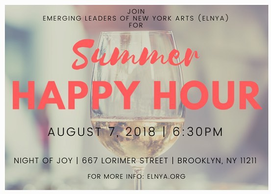 It's summertime which can only mean 1 thing - rooftop drinks with your favorite emerging leaders! See you at @nightofjoy on Tues, Aug 7th at 6:30! RSVP at link in bio!
