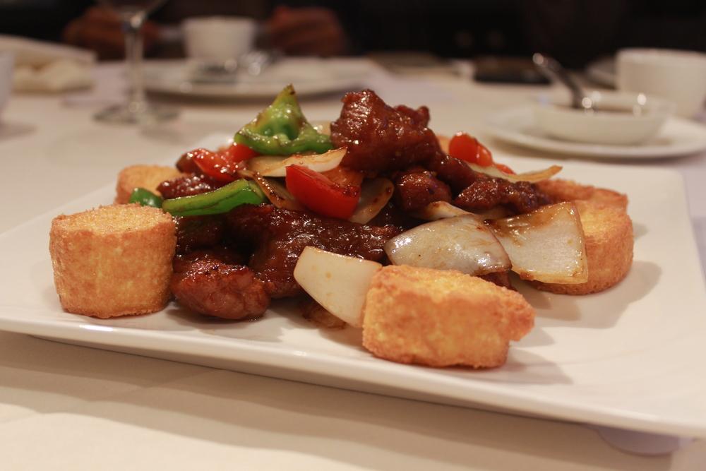Tofu & Pork