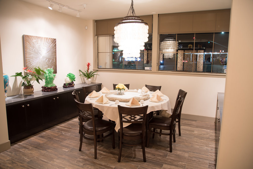 Private Dining Areas