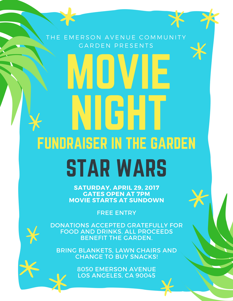los angeles garden movie night