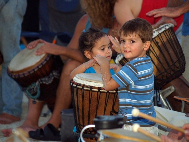 los angeles drum circle