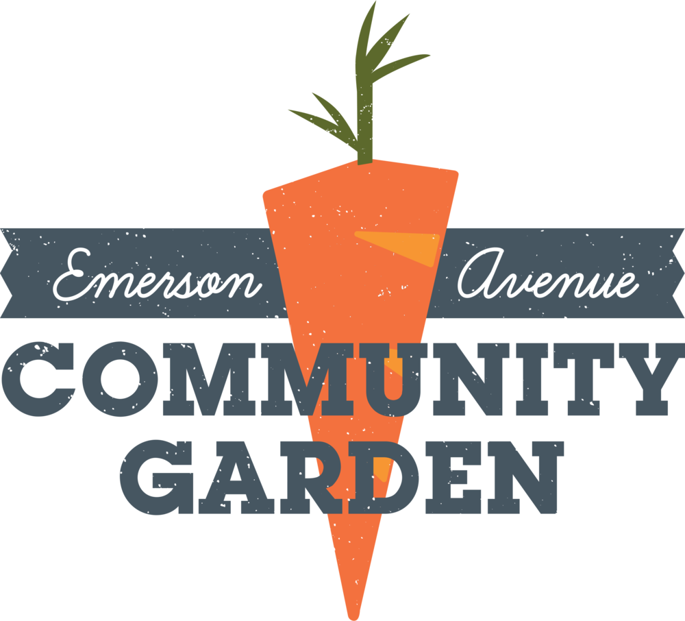 emerson avenue community garden logo