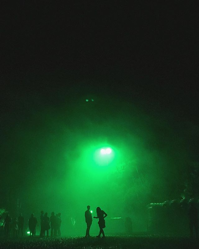 Childish Gambino's #PHAROS concert last night was something special. ✨ Only 3000 people, rain, mud, and a 360 degree full-dome audiovisual extravaganza for a stage. Phones were locked in special pouches so you couldn't use them inside the dome, so for my first concert in a long while, people just danced in the moment and enjoyed the show! 🕺 Thanks for twisting my arm @stefan_bramble