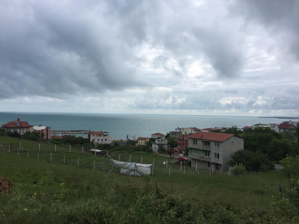 A village along the Black Sea.
