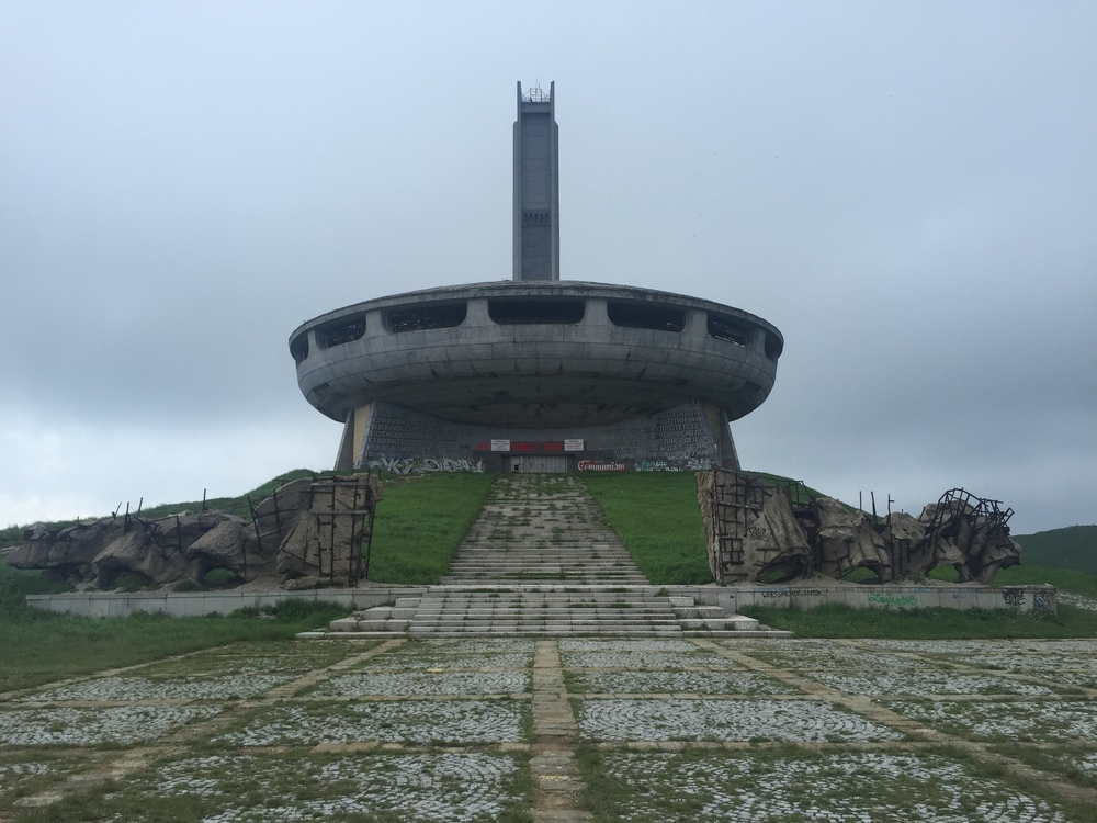 Buzludzha looks like something out of a James Bond movie.