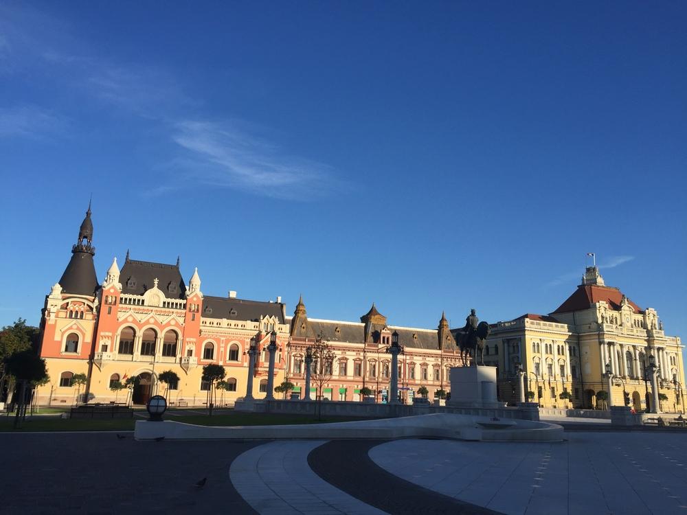 The center in Oradea.