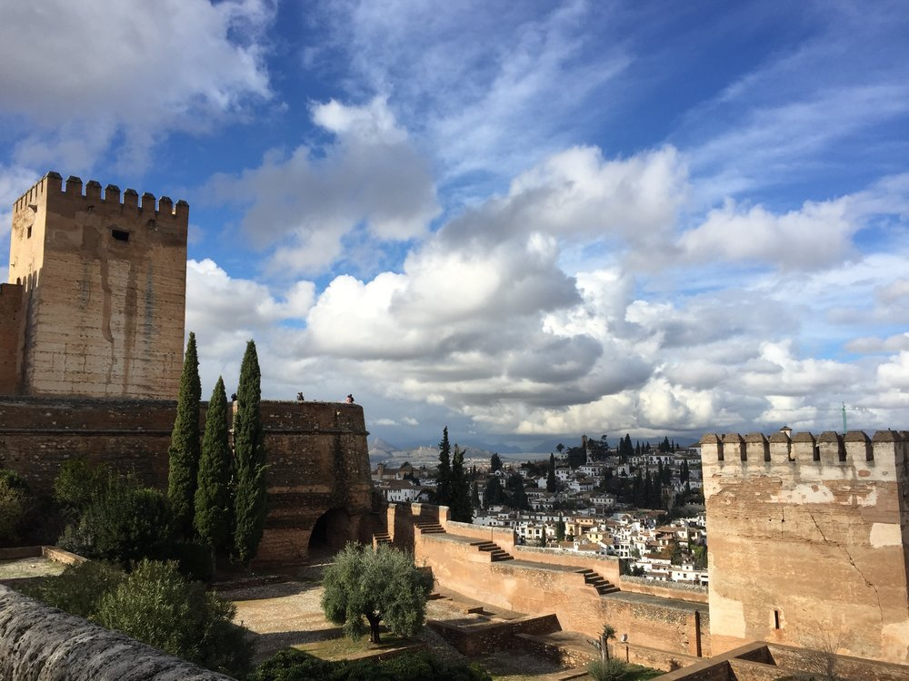 The Alhambra in Granada.