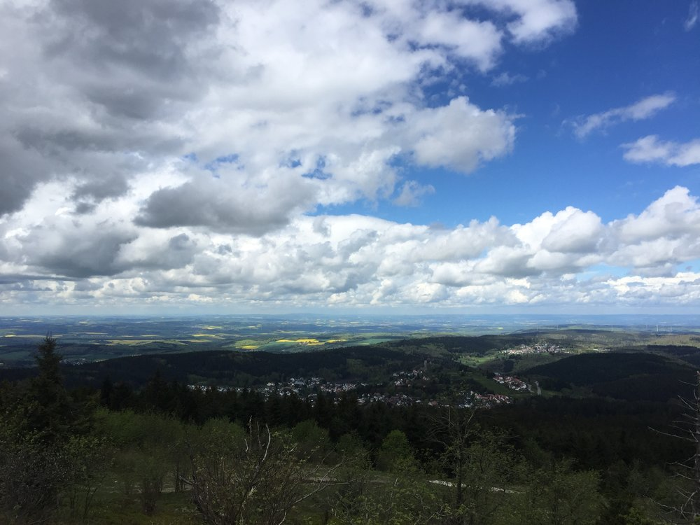 One of the many views you'll see in Germany.