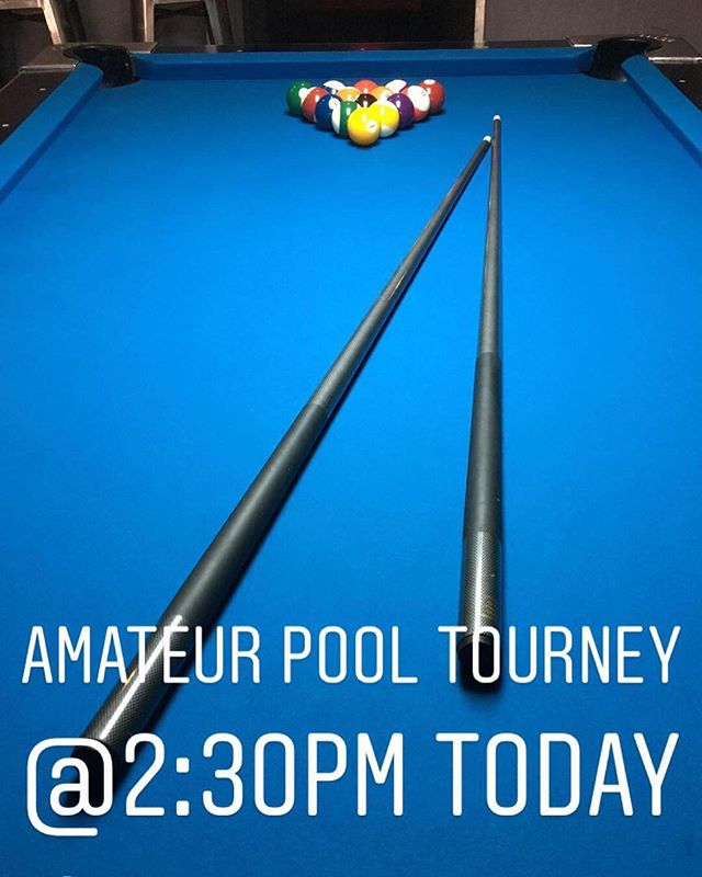 $5 buy in. Happy Hour drink prices! Come early for free practice games 🎱 #sundayfunday #poolshark #oceansidepier #oceansidebeach #happyhour🍻