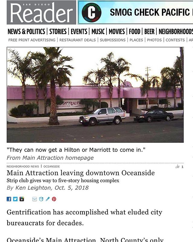 "Another one bites the dust 😳 ""Kyle Frolander is vice chairman of Oceanside's planning commission. Speaking only for himself, he says the city is currently being overwhelmed with requests for general plan amendments that increase density. ""We should be more cautious and start listening to what the people want."" He says having an appointed, unelected mayor is not helping the people have a voice."" #gentrificationinprogress #getinvolvedinyourcommunity #morehighdensityhousing"