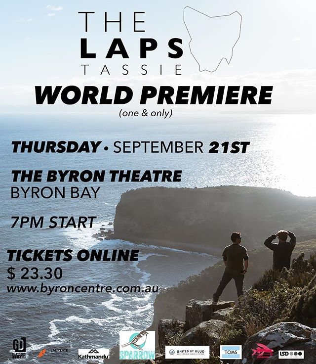 The wait is over! Come join us on September for the one and only World Premiere of The Lap of Tassie. Featuring a very special Q&A with cast @dustohollick @rhianjames and director @angiedavisfilms ✌🏼 Tickets will sell out, buy them online and don't miss your seat, link in bio.  #thelapstv #tasmania #realitytv #documentary #simplify