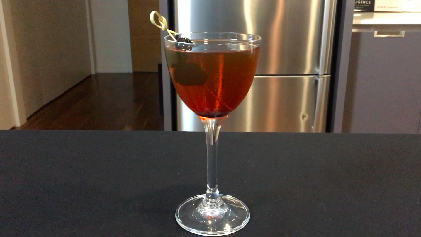 How To Make A Manhattan Cocktail Chemistry