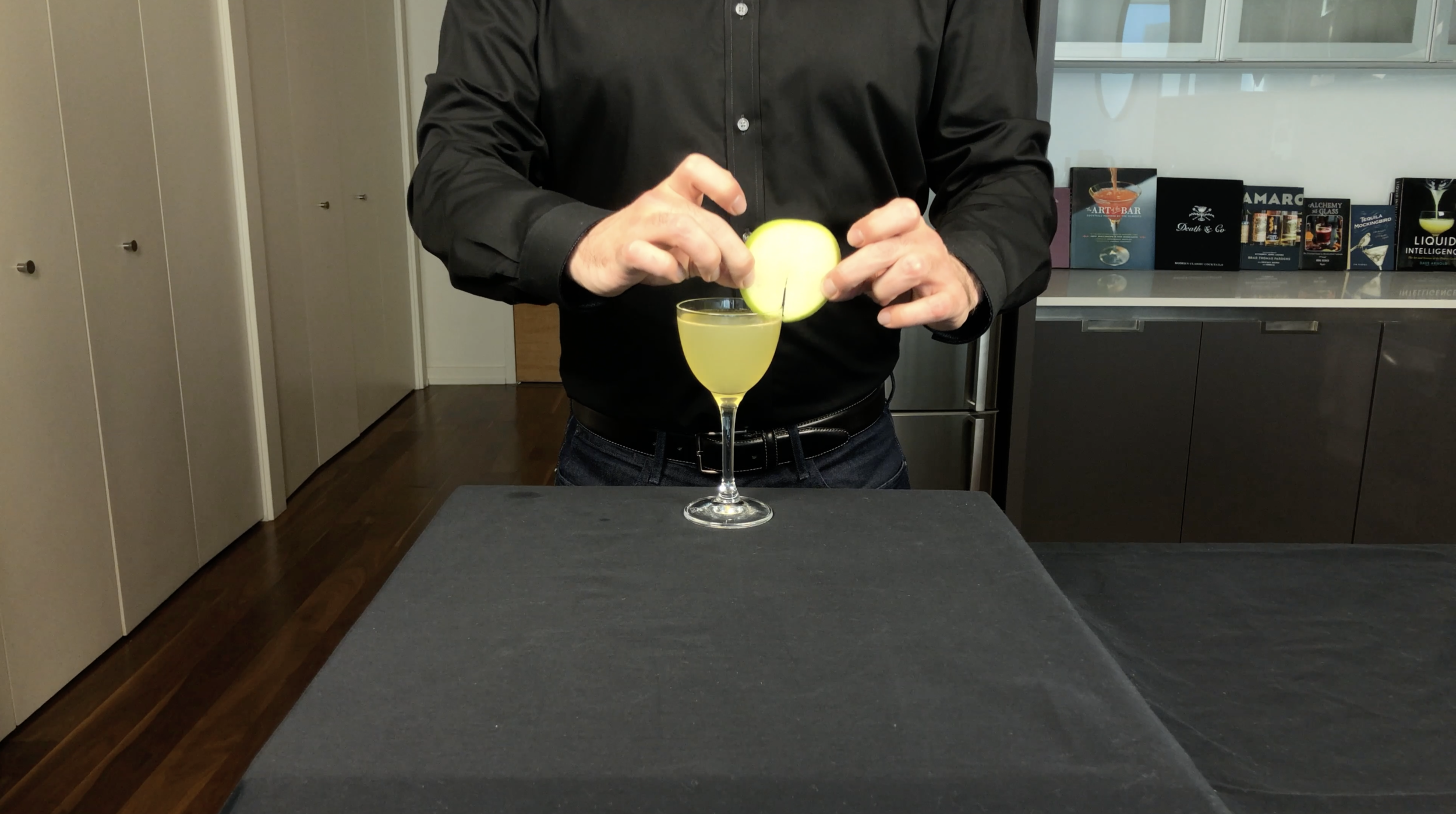 The Appletini From Scrubs Cocktail Chemistry