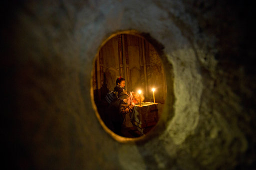 Edicule in the Church of the Holy Sepulchre