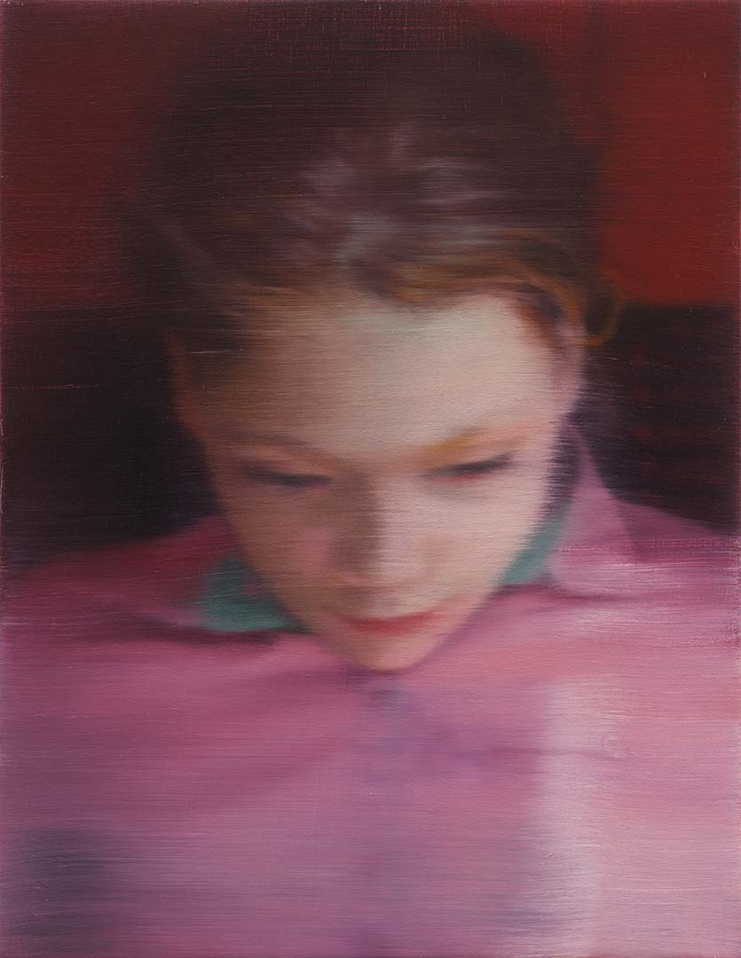 Gerhard Richter,  Ella,  2007. Oil on canvas, 40 x 31 cm