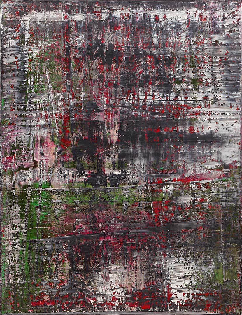 Gerhard Richter,  Birkenau , 2014. Oil on canvas, 260 x 200 cm