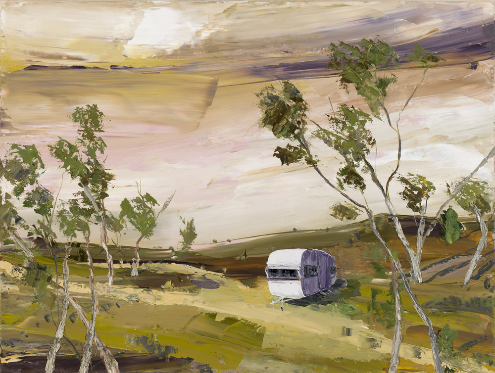 The Violet Van, 76x102cm, oil on linen (2018).jpg