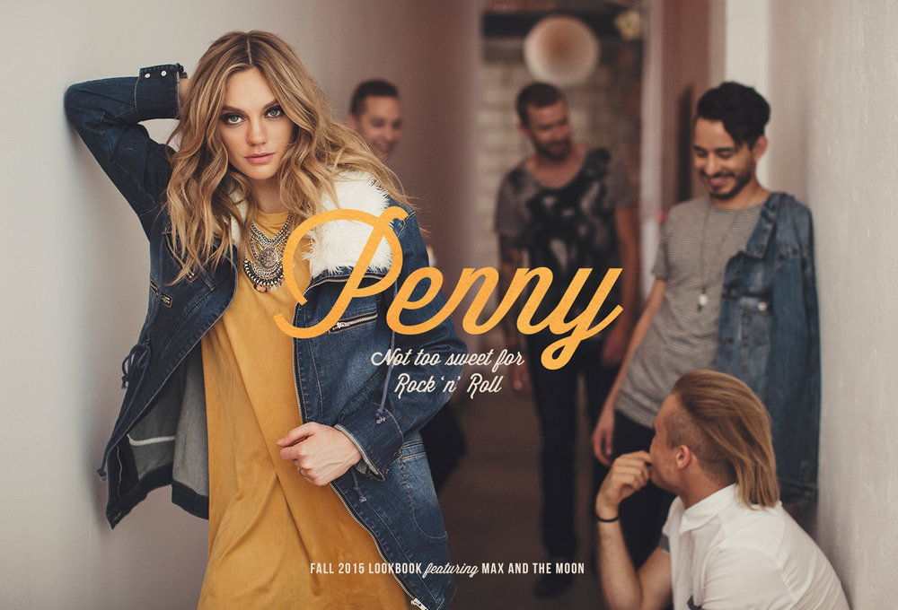 Penny Fall 2015 Lookbook by LR Creative