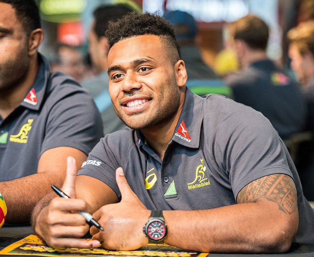 "Samu Kerevi - Queensland Reds ""Kindness means being considerate to others and always giving a helping hand. Doing things that you don't necessarily need to do for others."""