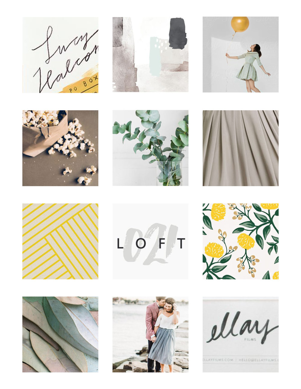 Playful and Classy Moodboard