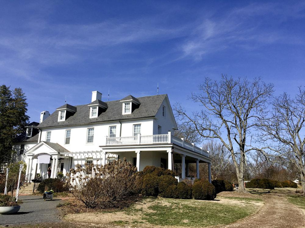 river farm main house