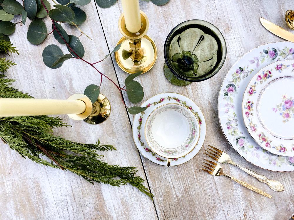 vintage tea china