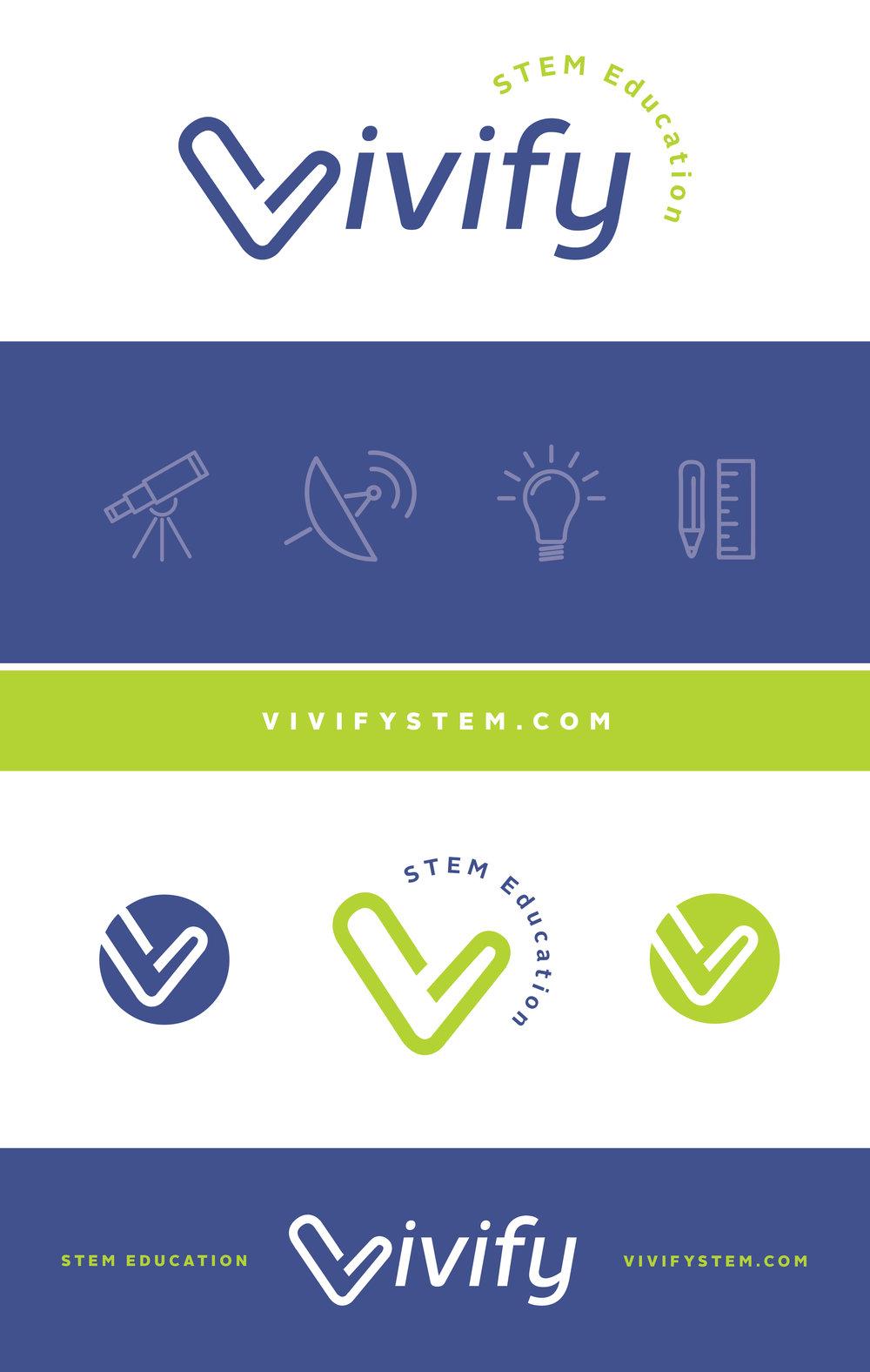Vivify STEM Brand Board
