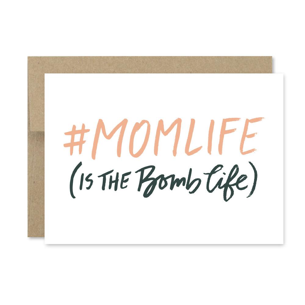hashtag mom life