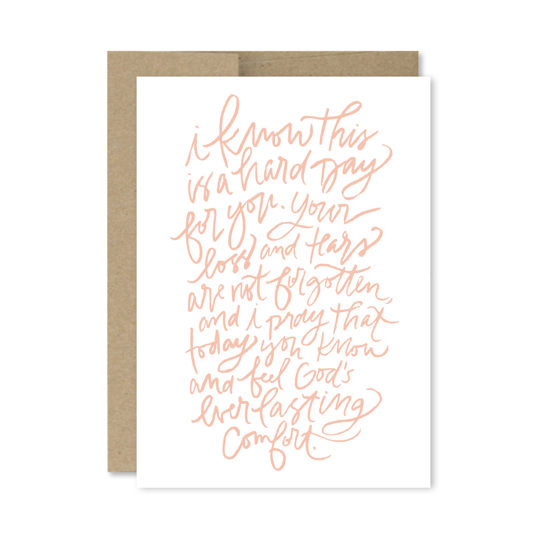 Free Printable Sympathy Card Rebekah Disch Design