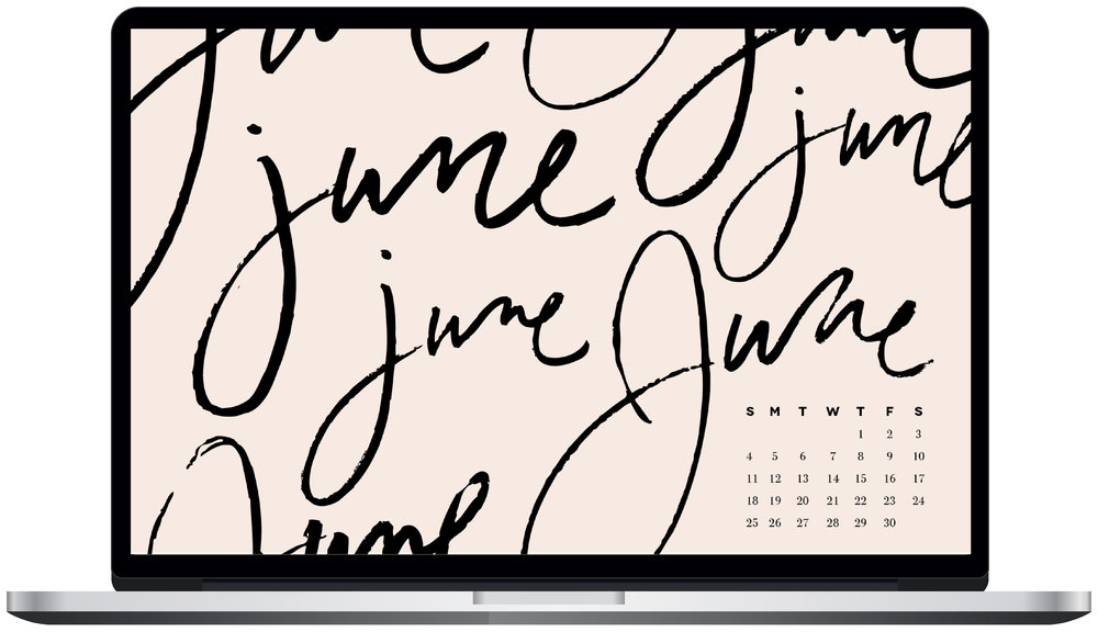 June desktop wallpaper
