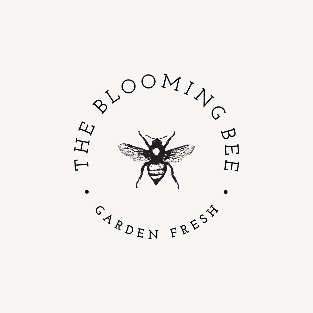 THE BLOOMING BEE Branding, Print, Packaging
