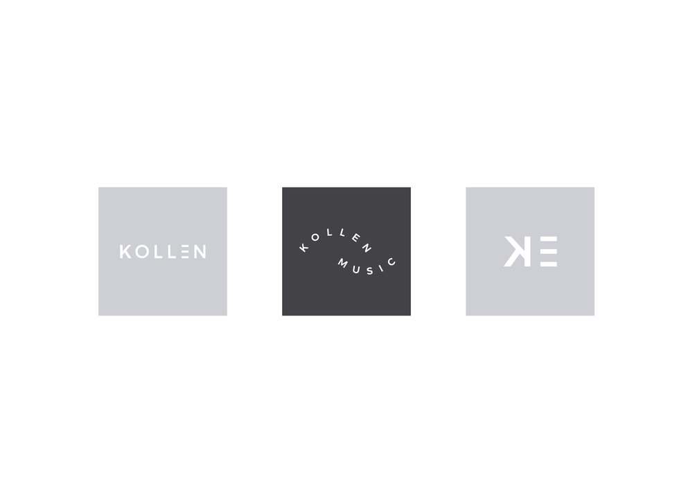 kollen-music-album-cover-branding-logo