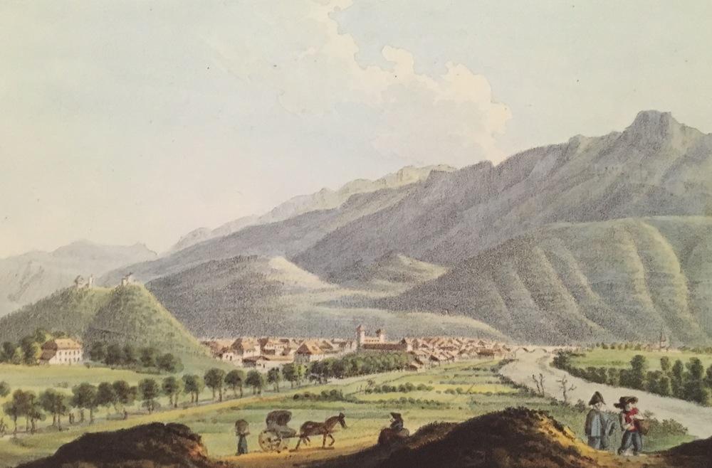 Bonneville, 1821