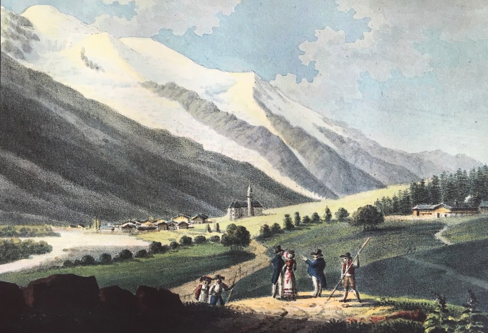 The Priory, Chamonix, 1821